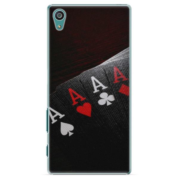 Plastové pouzdro iSaprio - Poker - Sony Xperia Z5