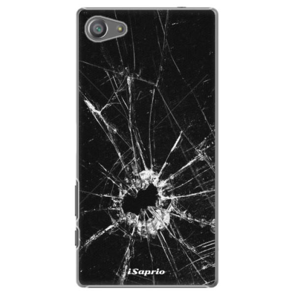 Plastové pouzdro iSaprio - Broken Glass 10 - Sony Xperia Z5 Compact