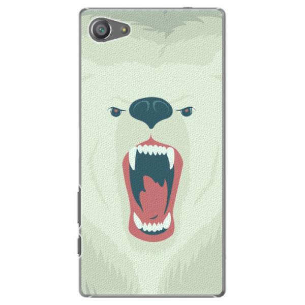 Plastové pouzdro iSaprio - Angry Bear - Sony Xperia Z5 Compact