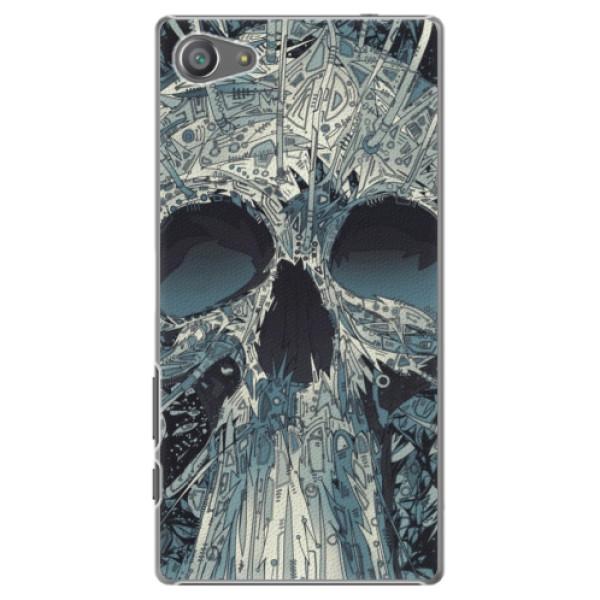 Plastové pouzdro iSaprio - Abstract Skull - Sony Xperia Z5 Compact