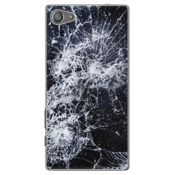 Plastové pouzdro iSaprio - Cracked - Sony Xperia Z5 Compact