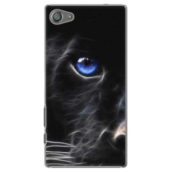 Plastové pouzdro iSaprio - Black Puma - Sony Xperia Z5 Compact