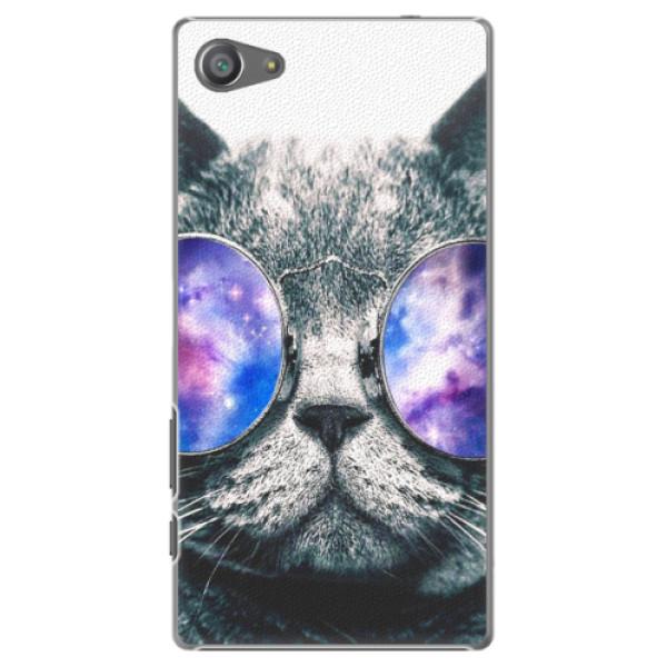 Plastové pouzdro iSaprio - Galaxy Cat - Sony Xperia Z5 Compact