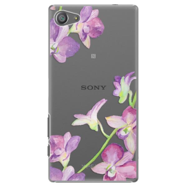 Plastové pouzdro iSaprio - Purple Orchid - Sony Xperia Z5 Compact