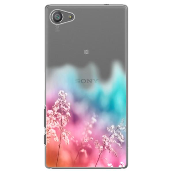 Plastové pouzdro iSaprio - Rainbow Grass - Sony Xperia Z5 Compact