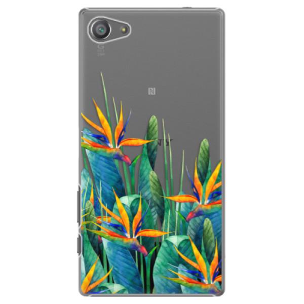 Plastové pouzdro iSaprio - Exotic Flowers - Sony Xperia Z5 Compact