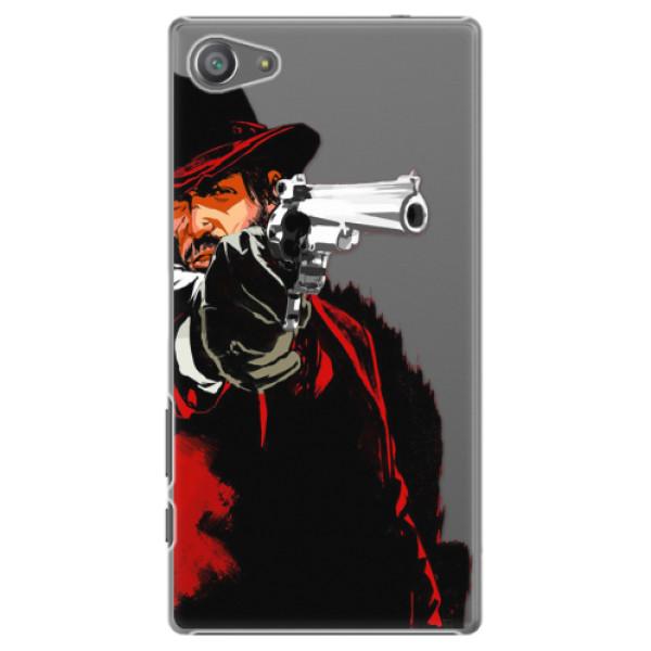 Plastové pouzdro iSaprio - Red Sheriff - Sony Xperia Z5 Compact