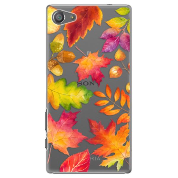 Plastové pouzdro iSaprio - Autumn Leaves 01 - Sony Xperia Z5 Compact
