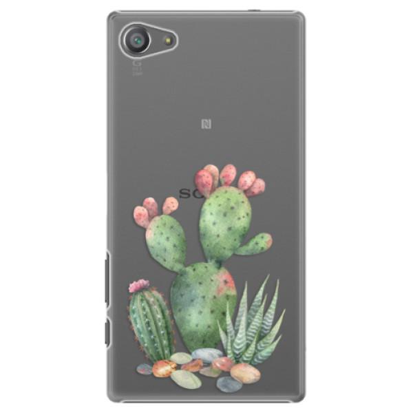 Plastové pouzdro iSaprio - Cacti 01 - Sony Xperia Z5 Compact