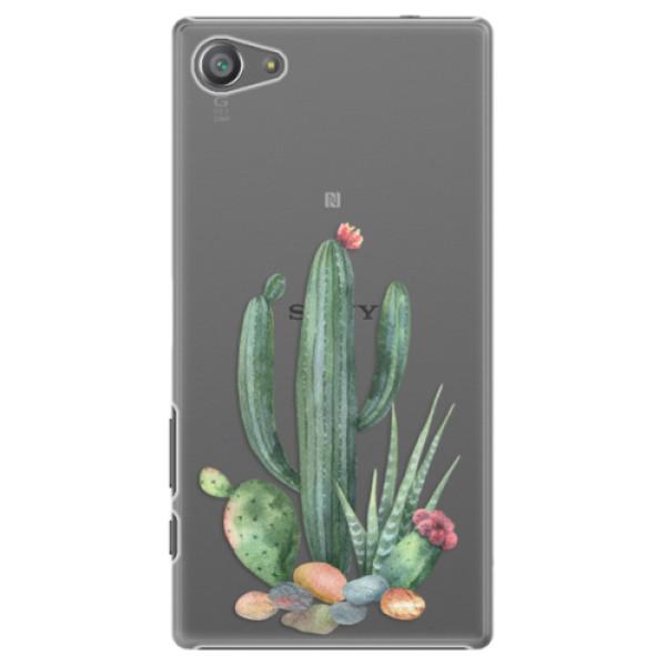 Plastové pouzdro iSaprio - Cacti 02 - Sony Xperia Z5 Compact