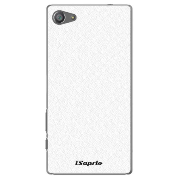 Plastové pouzdro iSaprio - 4Pure - bílý - Sony Xperia Z5 Compact