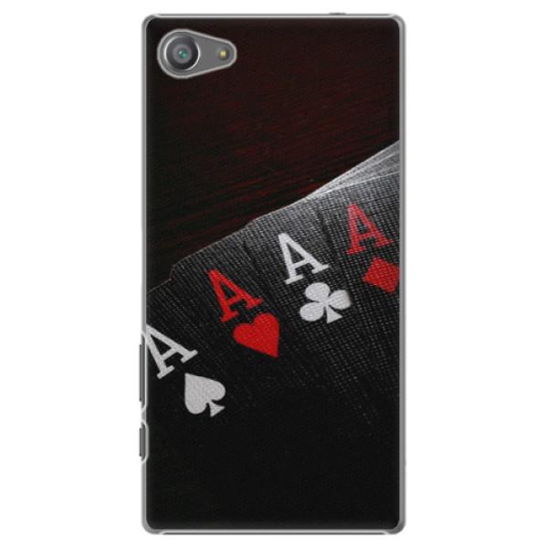 Plastové pouzdro iSaprio - Poker - Sony Xperia Z5 Compact