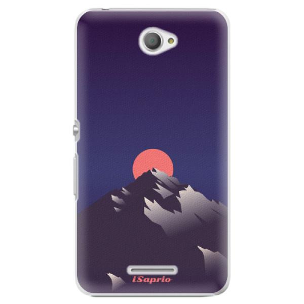Plastové pouzdro iSaprio - Mountains 04 - Sony Xperia E4