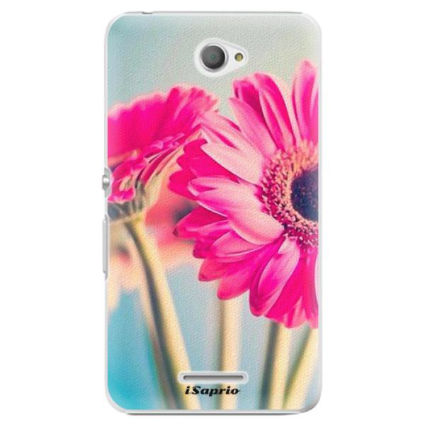 Plastové pouzdro iSaprio - Flowers 11 - Sony Xperia E4