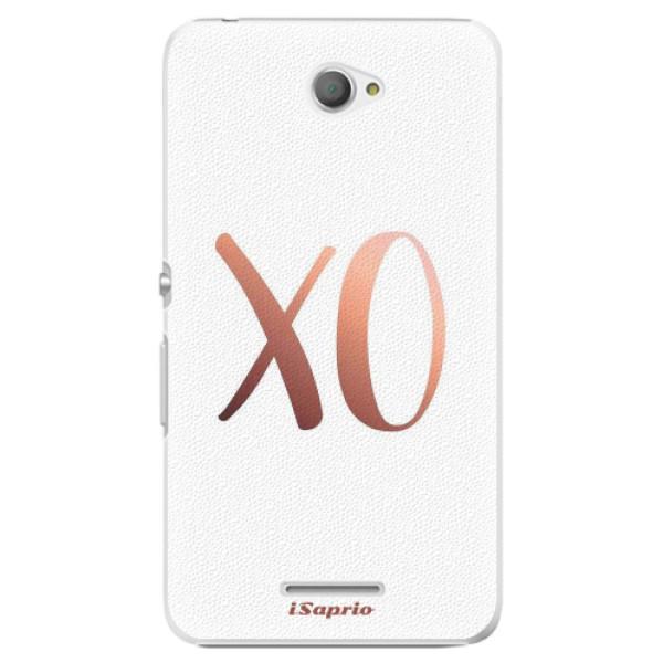 Plastové pouzdro iSaprio - XO 01 - Sony Xperia E4