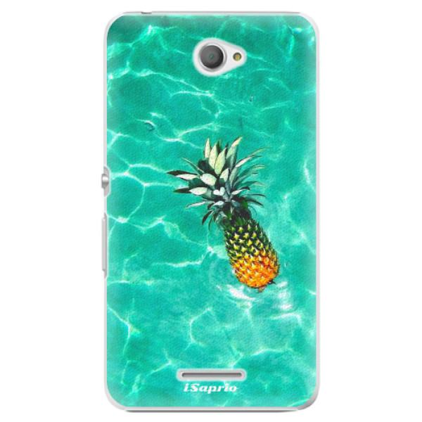 Plastové pouzdro iSaprio - Pineapple 10 - Sony Xperia E4