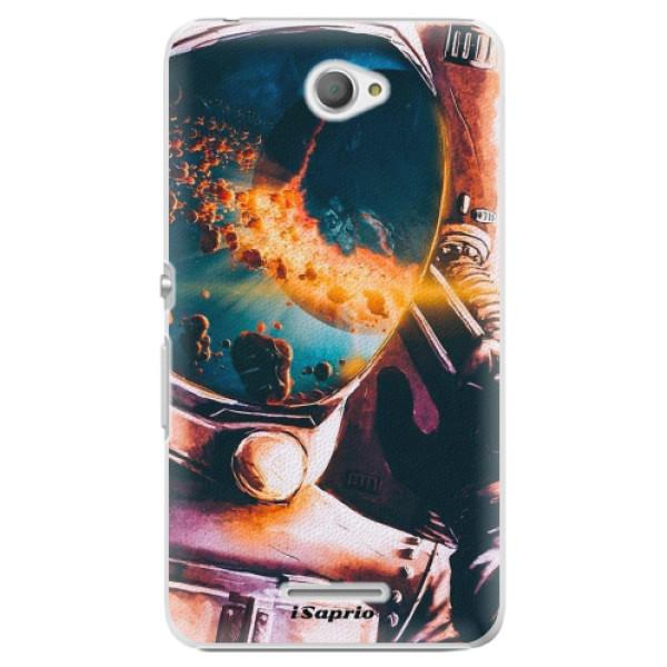 Plastové pouzdro iSaprio - Astronaut 01 - Sony Xperia E4