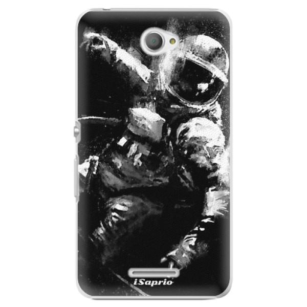 Plastové pouzdro iSaprio - Astronaut 02 - Sony Xperia E4
