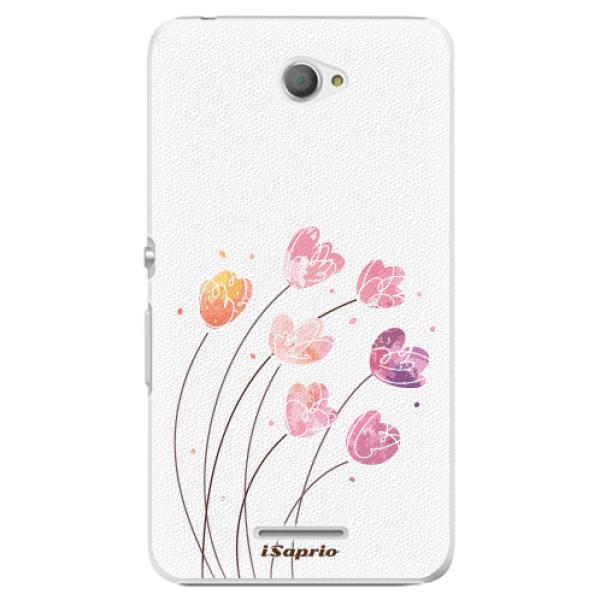 Plastové pouzdro iSaprio - Flowers 14 - Sony Xperia E4