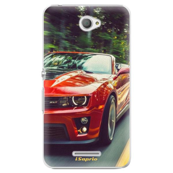 Plastové pouzdro iSaprio - Chevrolet 02 - Sony Xperia E4