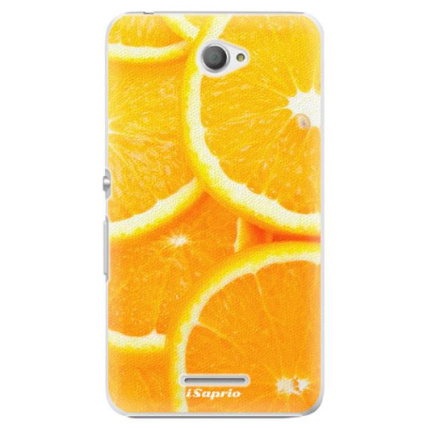 Plastové pouzdro iSaprio - Orange 10 - Sony Xperia E4