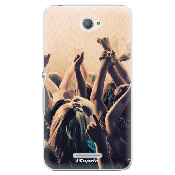 Plastové pouzdro iSaprio - Rave 01 - Sony Xperia E4