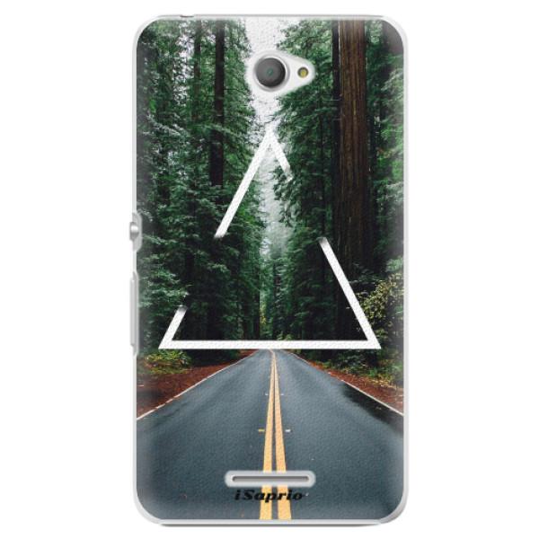 Plastové pouzdro iSaprio - Triangle 01 - Sony Xperia E4