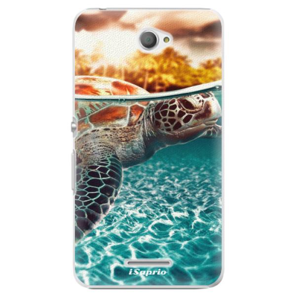 Plastové pouzdro iSaprio - Turtle 01 - Sony Xperia E4