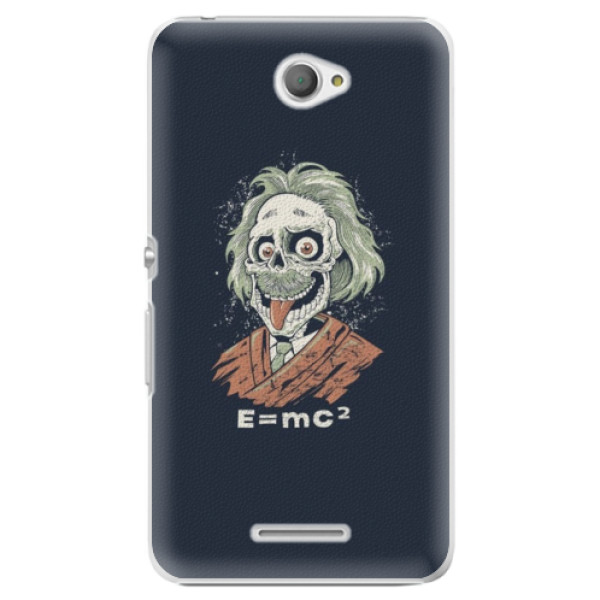 Plastové pouzdro iSaprio - Einstein 01 - Sony Xperia E4