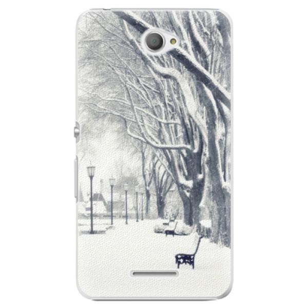 Plastové pouzdro iSaprio - Snow Park - Sony Xperia E4
