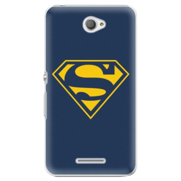 Plastové pouzdro iSaprio - Superman 03 - Sony Xperia E4