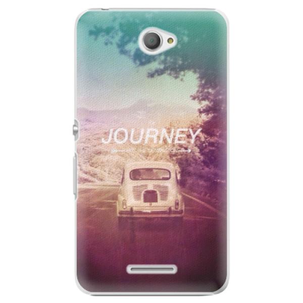 Plastové pouzdro iSaprio - Journey - Sony Xperia E4