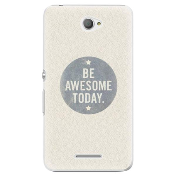 Plastové pouzdro iSaprio - Awesome 02 - Sony Xperia E4