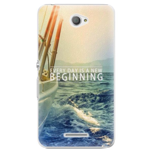 Plastové pouzdro iSaprio - Beginning - Sony Xperia E4