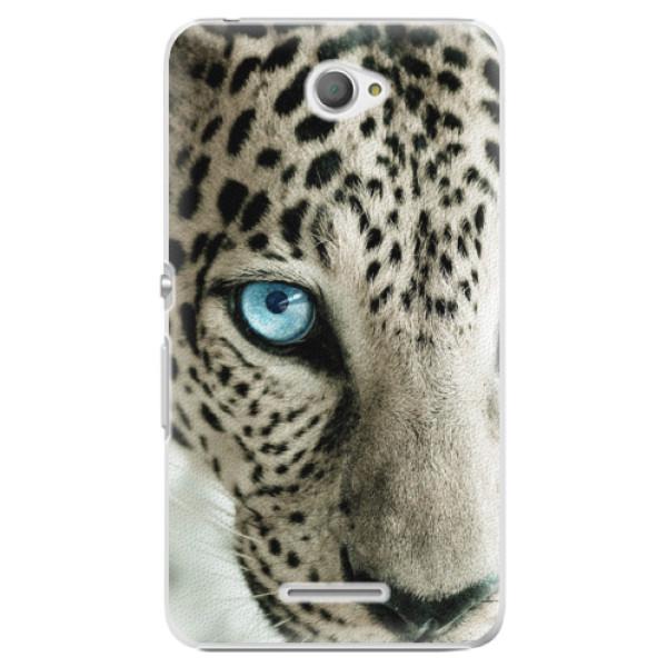 Plastové pouzdro iSaprio - White Panther - Sony Xperia E4