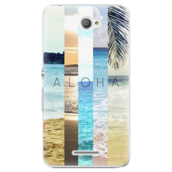 Plastové pouzdro iSaprio - Aloha 02 - Sony Xperia E4