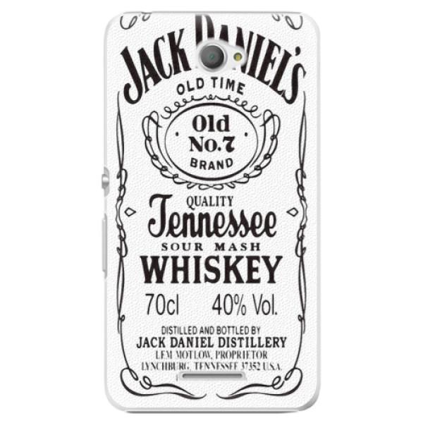 Plastové pouzdro iSaprio - Jack White - Sony Xperia E4