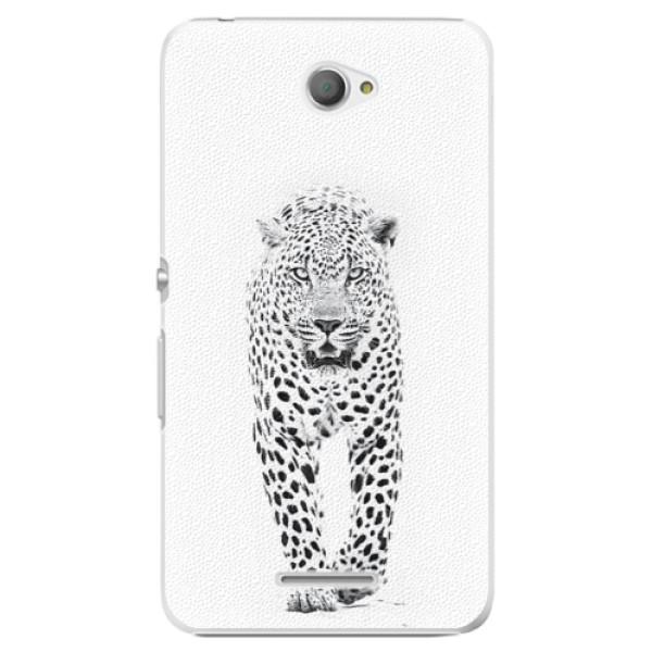 Plastové pouzdro iSaprio - White Jaguar - Sony Xperia E4