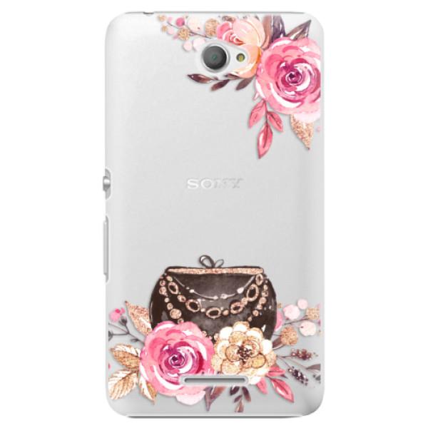 Plastové pouzdro iSaprio - Handbag 01 - Sony Xperia E4