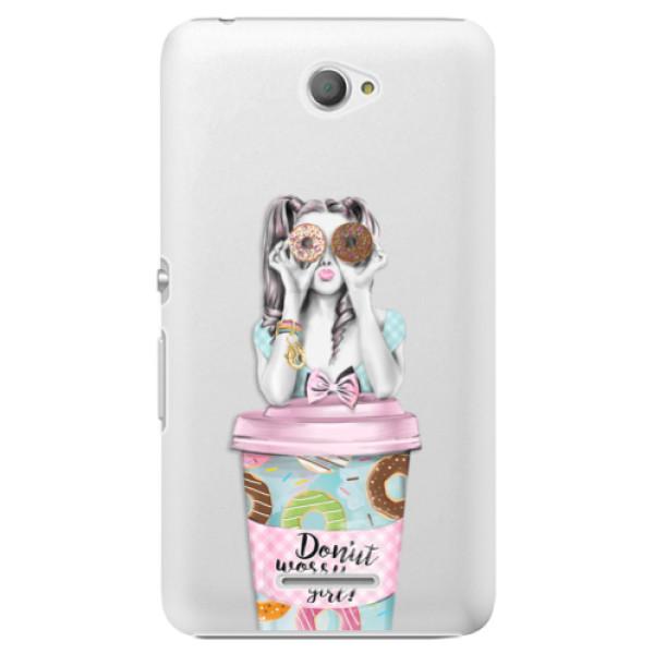 Plastové pouzdro iSaprio - Donut Worry - Sony Xperia E4