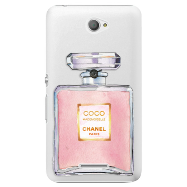 Plastové pouzdro iSaprio - Chanel Rose - Sony Xperia E4