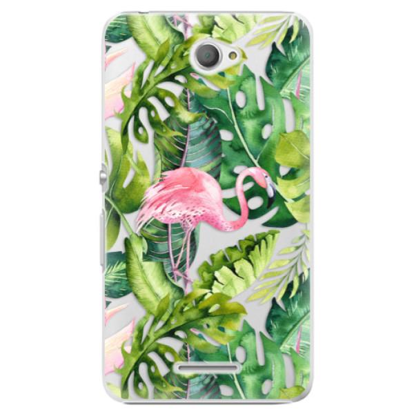 Plastové pouzdro iSaprio - Jungle 02 - Sony Xperia E4
