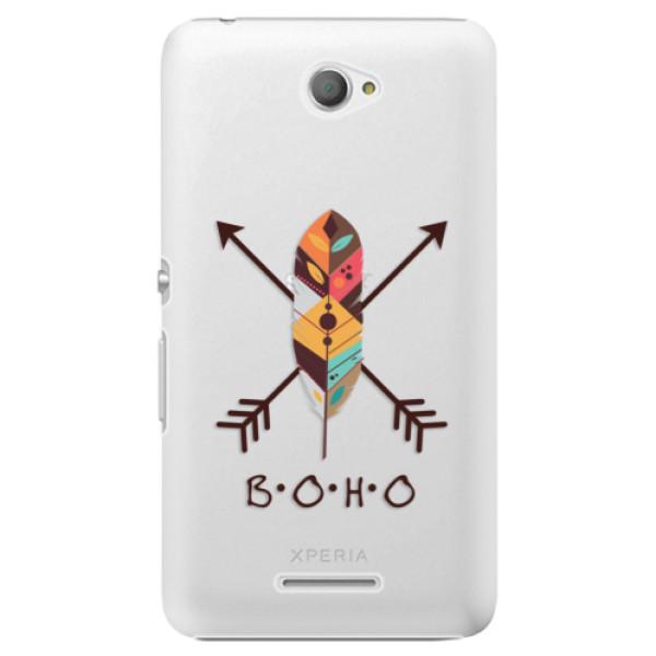 Plastové pouzdro iSaprio - BOHO - Sony Xperia E4
