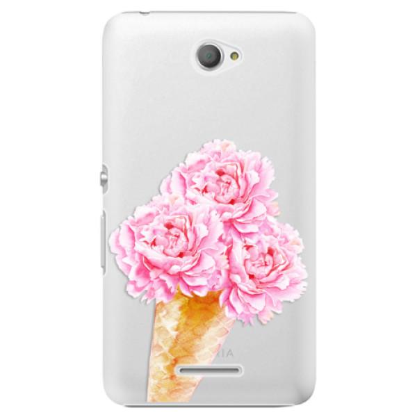 Plastové pouzdro iSaprio - Sweets Ice Cream - Sony Xperia E4