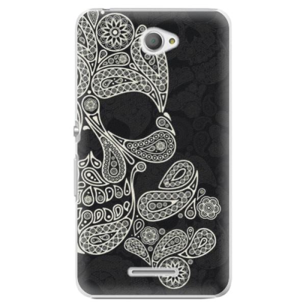 Plastové pouzdro iSaprio - Mayan Skull - Sony Xperia E4