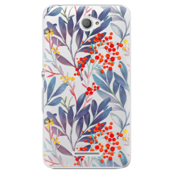 Plastové pouzdro iSaprio - Rowanberry - Sony Xperia E4