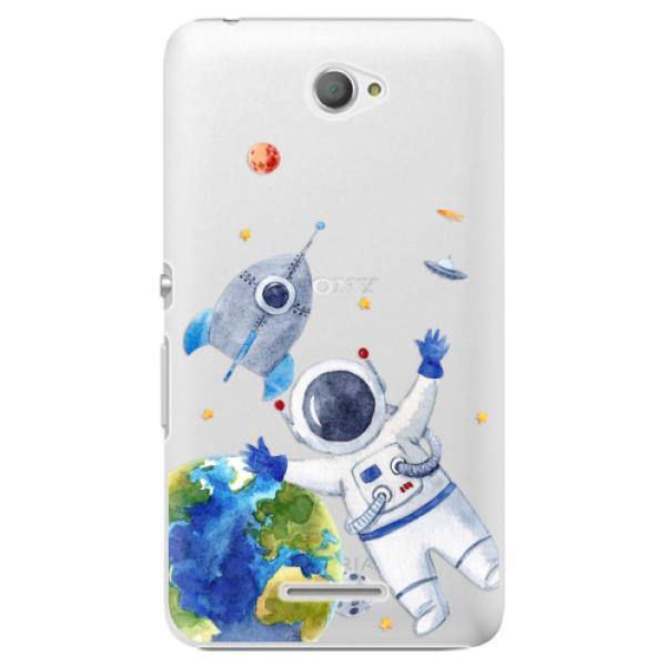 Plastové pouzdro iSaprio - Space 05 - Sony Xperia E4