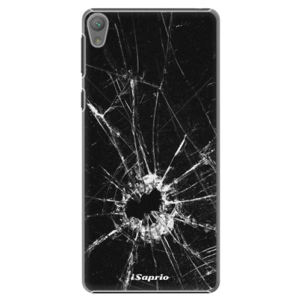 Plastové pouzdro iSaprio - Broken Glass 10 - Sony Xperia E5