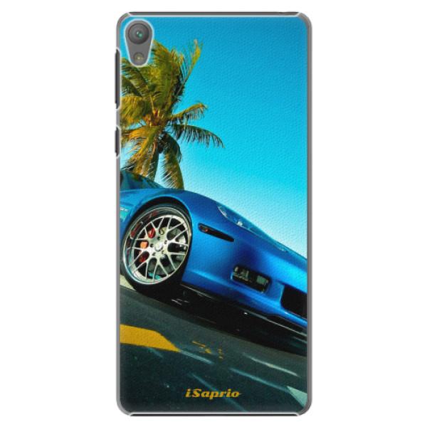 Plastové pouzdro iSaprio - Car 10 - Sony Xperia E5