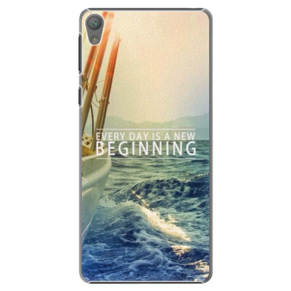 Plastové pouzdro iSaprio - Beginning - Sony Xperia E5